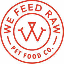 We Feed Raw Pet Food Logo